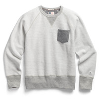 Inside Out Sweatshirt in Salt and Pepper