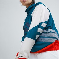 adidas Originals Nova Colourblock Half Zip Jacket at asos.com