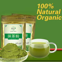 Promotion!100g Matcha Green Tea Powder 100% Natural Organic slimming tea matcha tea weight loss food+Free shipping