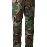 Harvey Faircloth camouflage trousers