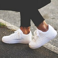 Air force 1 NIKE Women Men Running Sport Casual Shoes Sneakers White