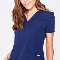 women's Casma - three-pocket scrub top