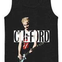 5 seconds of summer tshirt with michael clifford picture live concert tank top for womens and mens