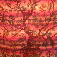Tree of Life Tapestry Lines