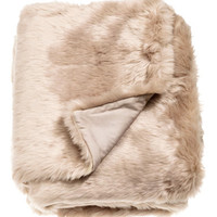 H&M Faux Fur Throw $79.99