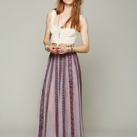 Free People FP ONE Ribbon Corset Maxi