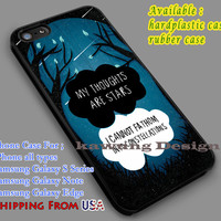 My Thought are Stars Quote iPhone 6s 6 6s+ 5c 5s Cases Samsung Galaxy s5 s6 Edge+ NOTE 5 4 3 #movie #TheFaultInOurStars dl7