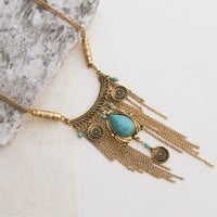 Aztec Gold Necklace