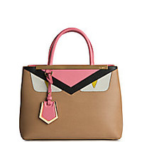 Fendi - 2Jours Petite Monster Face Satchel - Saks Fifth Avenue Mobile