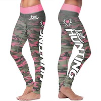 Love Hunting Pink Camo Leggings