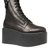 The Trench High Platform in Black