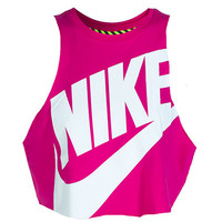 NIKE SPORTSWEAR NTF CROP SLEEVELESS WORK OUT TOP - Pink | Jimmy Jazz - 649704602
