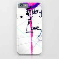Friday iPhone & iPod Case by Holly Sharpe