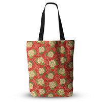 """Holly Helgeson """"Cammelia"""" Red Yellow Everything Tote Bag"""