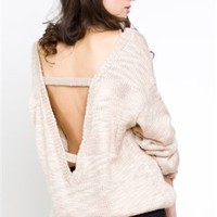 Finders Keepers Bright Lights Knit - Open Back Tops - $59