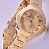 Classic Chunky Watch - Gold or Rose Gold