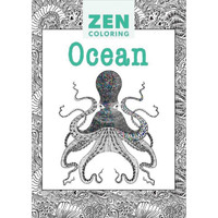 Zen Coloring Ocean Adult Coloring Book