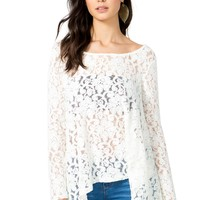 All Over Lace Swing Top