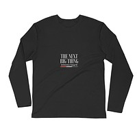 Long Sleeve Fitted Crew Shirt for Men