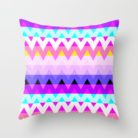 Mix #370 Throw Pillow by Ornaart