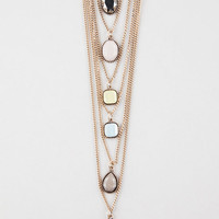 FULL TILT 6 Layer Stone Necklace | Necklaces