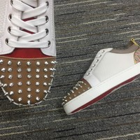Christian Louboutin Cl Louis Junior Spikes Orlato Sneakers Reference 105