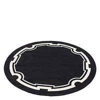 Black and Off White Rug   Eichholtz Palazzo
