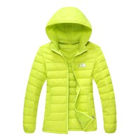 The north face latest female down jacket