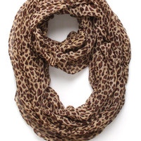 With Love From CA Cheetah Infinity Scarf at PacSun.com