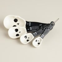 Skull Ceramic Measuring Spoons - World Market