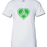 heart celtic Irish pub beer bar scotland saint st. Patrick's Paddy's ireland scottish T-Shirt Tee Shirt Mens Ladies Womens mad labs ML-287g