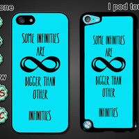 Infinity,fault in our stars personalized Iphone4 case, Iphone4s case, Iphone5 case, Iphone 5S case, 5C case, galaxy S3/S4 case, I touch case