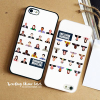 Dunder Mifflin Employee Headshots iPhone Case Cover for iPhone 6 6 Plus 5s 5 5c 4s 4 Case