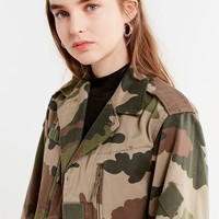 Vintage Camo Button-Down Jacket | Urban Outfitters