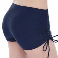 Quick-Dry Yoga Shorts with Tie off