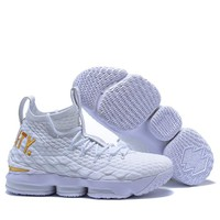 Nike Lebron Xv  Fashion Casual Sneakers Sport Shoes