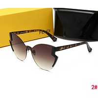 FENDI New Stylish Woman Summer Sun Shades Eyeglasses Glasses Sunglasses