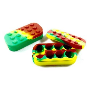 Lego Silicone Container
