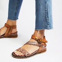 Free People Tenley Mini Wedge Sandal