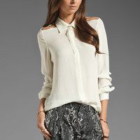 Parker Slash Top in Ivory from REVOLVEclothing.com