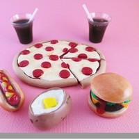 American Girl Doll Food - Dinner Collection by Katie's Craftations