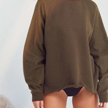 Out From Under Mixed Up Dolman Sweatshirt   Urban Outfitters