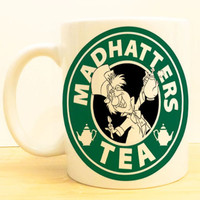 Mad Hatter's Tea Coffee Mug | Alice in Wonderland Starbucks |  Disney