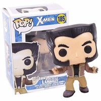 FUNKO POP!  X-men Logan 185 Bobble Head Vinyl Figure Collectible Model Toy