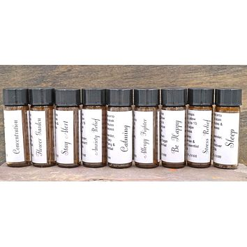 Blended Essential Oil Aromatherapy Oil Roller Ball