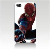 The Amazing Spider-man Hard Case Skin for Iphone 4 4s Iphone4 At&t Sprint Verizon Retail Packing.