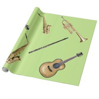 Instruments Wrapping Paper