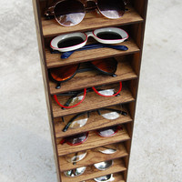 Storage Shelving Organizer Shelf Wall Mounted Sunglasses Glasses 3D Storage Shelf Case Holder Rack
