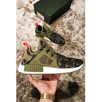 Adidas NMD XR1.5 Woman Men Trending Camouflage Running Sports Shoes Sneakers