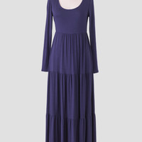 Sabina Maxi Dress In Navy